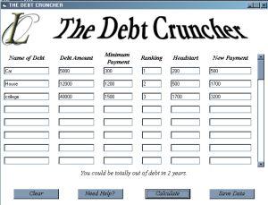 debt cruncher